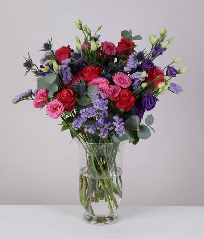 You could win this luxury bouquet from Zing Flowers