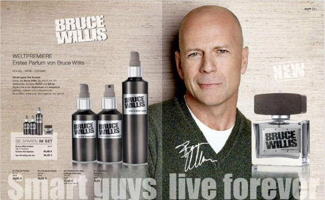 Bruce Willis fragrance