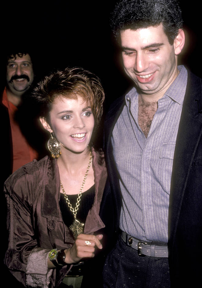 Sheena Easton and husband Robert Light in 1985