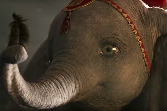 Dumbo will be released in March 2019