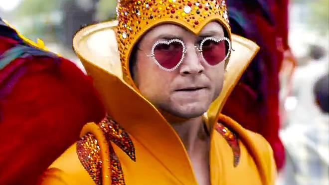 Taron Egerton stars as Elton John in the Rocketman movie