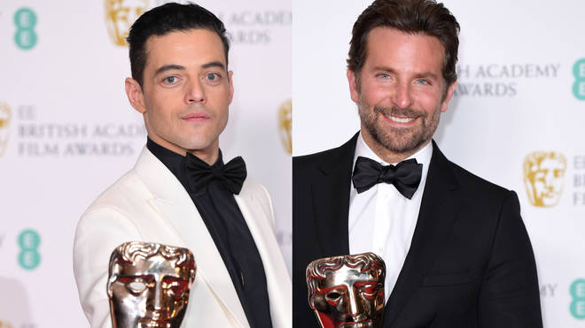 Rami Malek and Bradley Cooper won BAFTAs in London