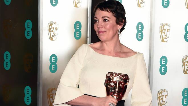 Olivia Colman won a Bafta for The Favourite