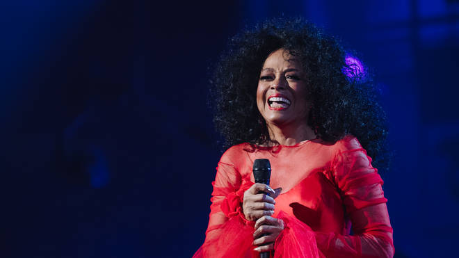 Diana Ross performed at the 2019 Grammys