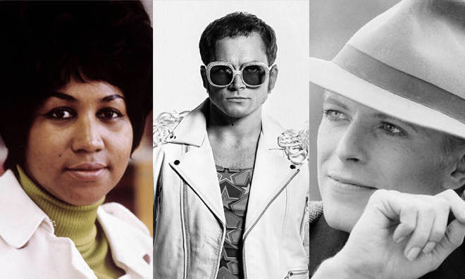 Highlights amongst 2019's biopics are films on Aretha Franklin, Elton John and David Bowie