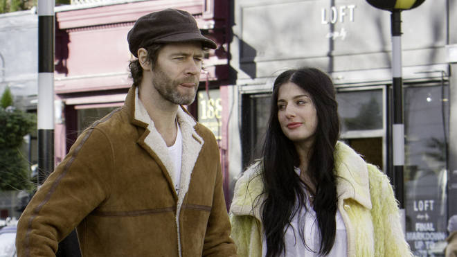 Howard Donald and wife Katie Halil in 2016