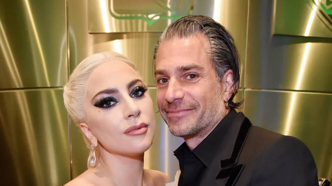 Lady Gaga and Christian Carino in January 2018