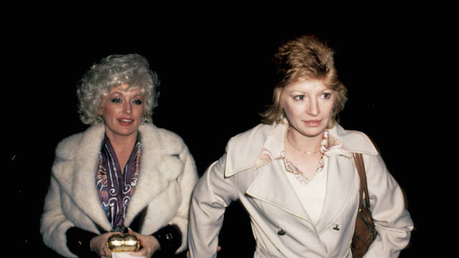 Dolly Parton and Judy Ogle in 1980