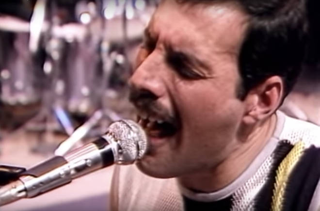 Freddie Mercury gives a stellar vocal performance in the rehearsal for Live Aid