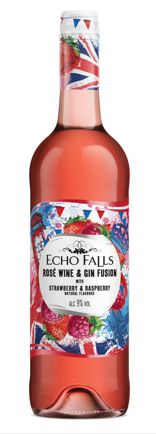 Echo Falls gin-infused rosé wine