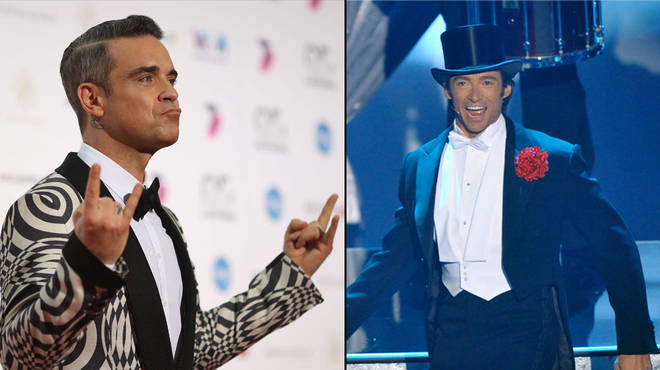 Robbie Williams will join Hugh Jackman on his world tour