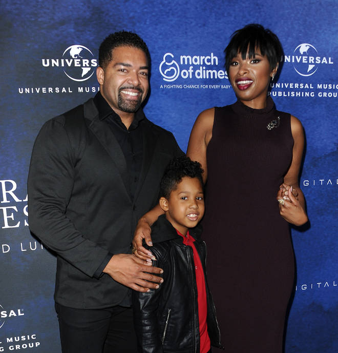 David Otunga, Jennifer Hudson and son David Otunga Jr in 2016