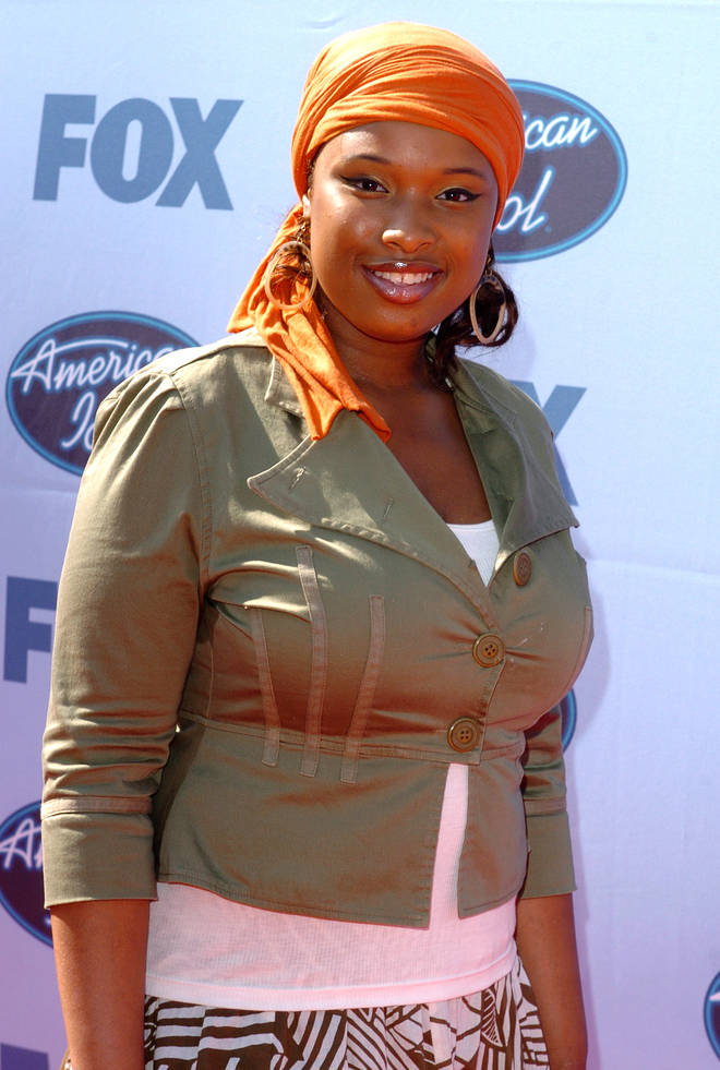 Jennifer Hudson in her American Idol days