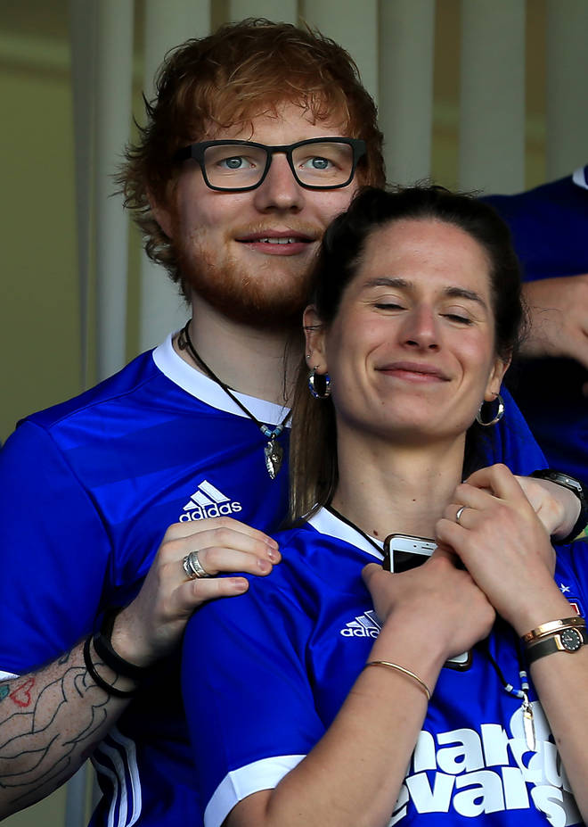 04dc372a94a Who is Ed Sheeran's wife Cherry Seaborn? - Smooth