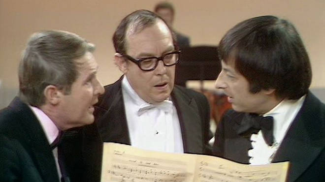 Andre Previn on The Morecambe and Wise Show
