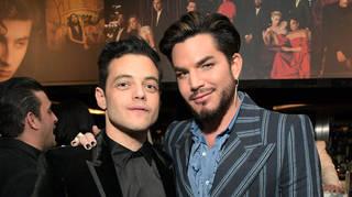 Rami Malek and Adam Lambert