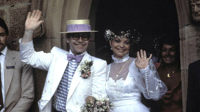 Elton John and Renate Blauel's Wedding in 1984