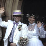 Elton John and Renate Blauel's Wedding in 1984