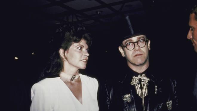 Elton and Renate