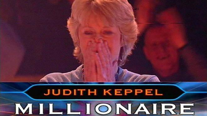 Judith Keppel wins Millionaire