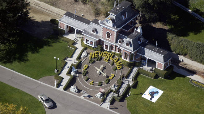 Michael Jackson's Neverland Ranch in 2003