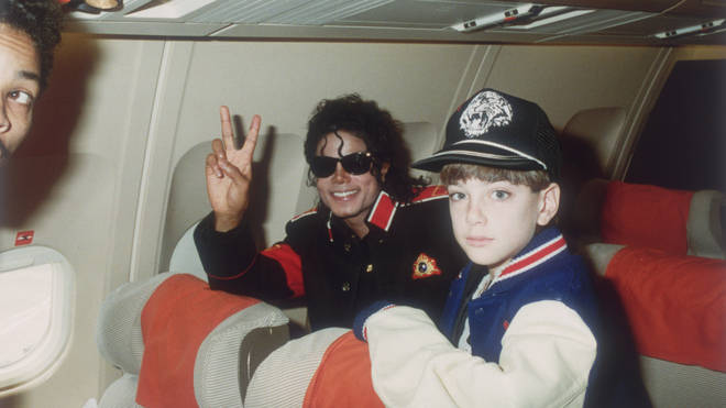 Michael Jackson with James Safechuck in 1988