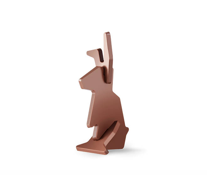 Ikea's 3-piece chocolate bunny stands out amongst this year's Easter eggs
