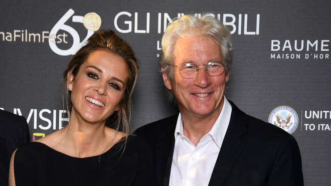 Alejandra Silva and Richard Gere in 2016