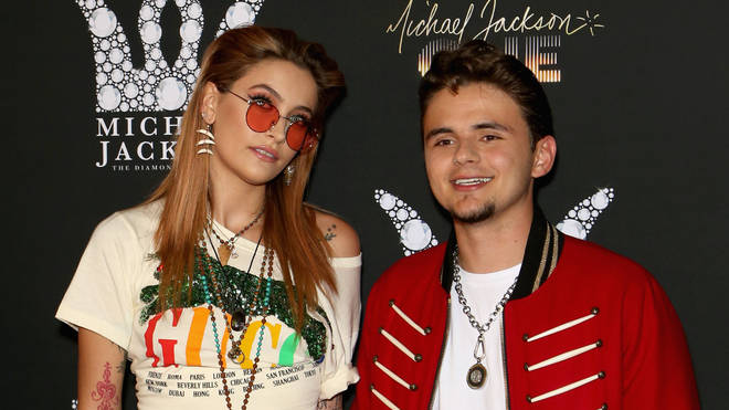 Paris and Prince Jackson in 2018