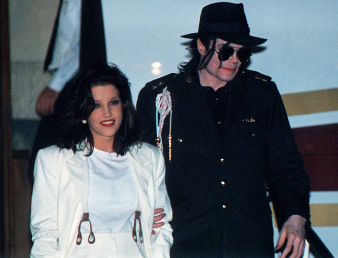 Michael Jackson and Lisa Marie Presley in 1994