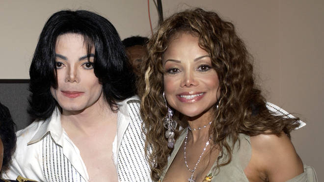 La Toya Jackson and Michael Jackson