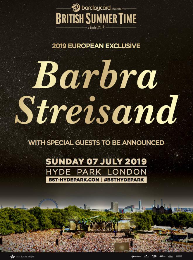 Barbra Streisand BST