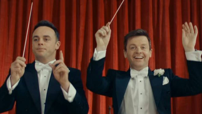 Ant & Dec on Britain's Got Talent