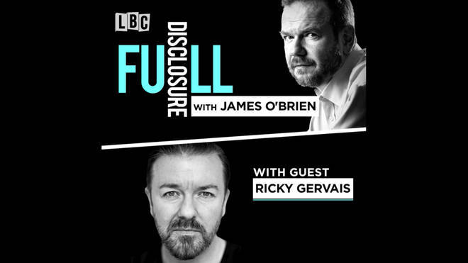 Ricky Gervais Full Disclosure Podcast