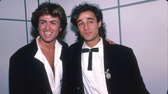 George Michael and Andrew Ridgeley