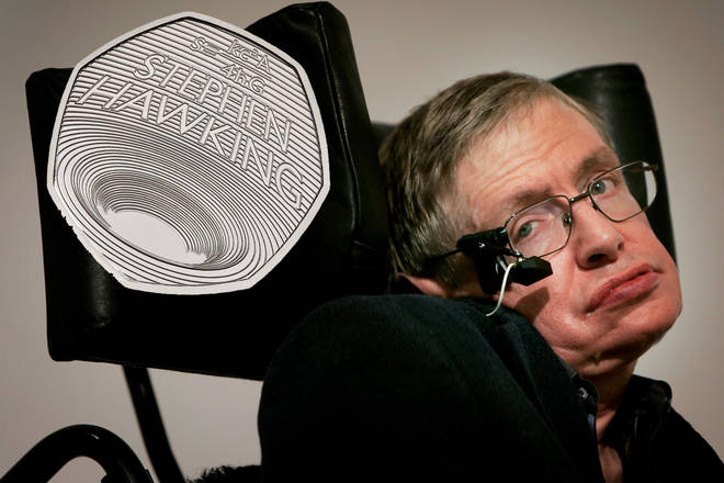 Stephen Hawking is celebrated on a new 50p coin