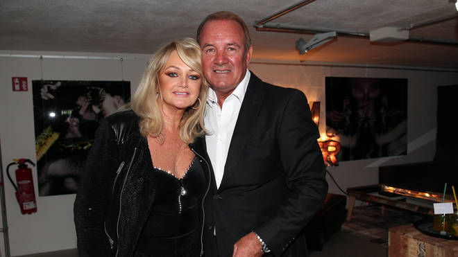 Bonnie Tyler and husband Robert Sullivan