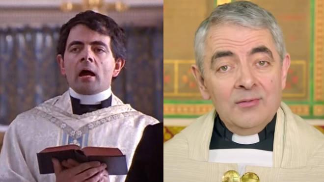 Rowan Atkinson (Father Gerald)