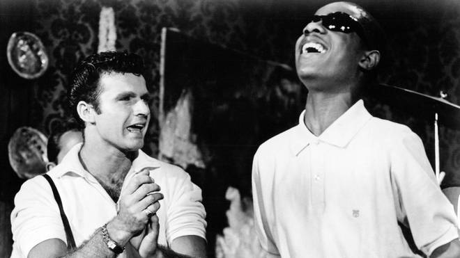Dick Dale with Stevie Wonder