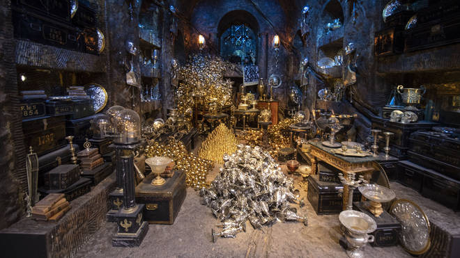 Gringotts Bank Harry Potter tour opens