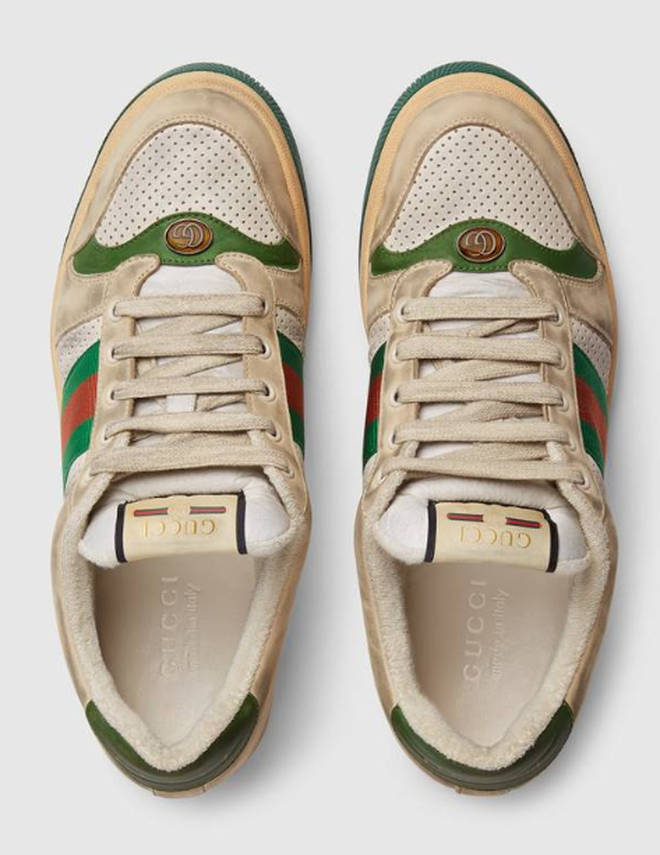Gucci dirty trainers