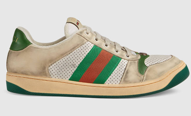 Gucci's old-looking trainers are seeing a backlash online