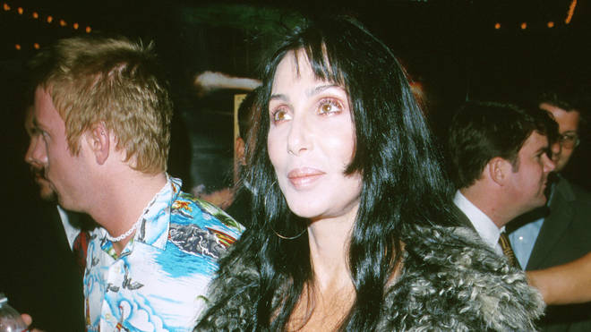 Cher wearing her favourite skull T-shirt