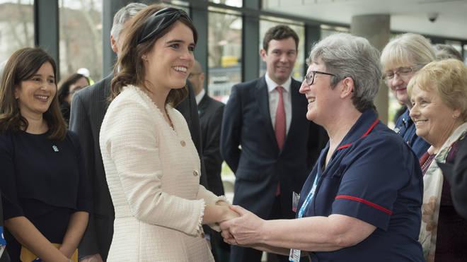 The Duke of York Visits The Royal National Orthopaedic Hospital