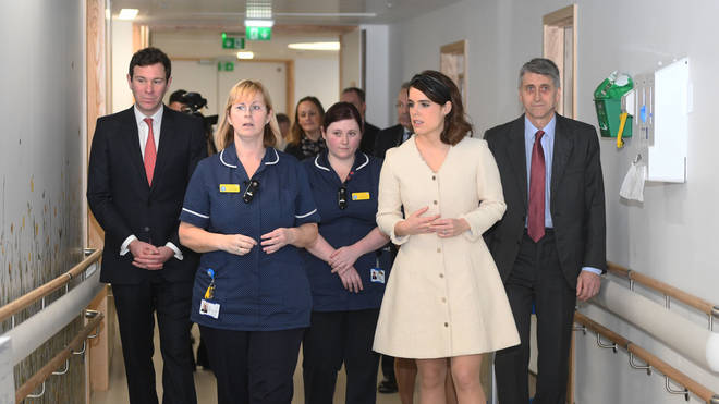 The Duke of York Visits The Royal National Orthopaedic Hospital