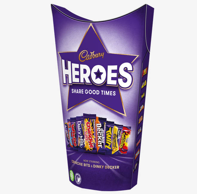 Cadbury Heroes introduce new chocolates