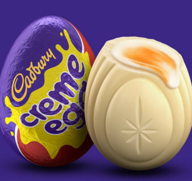 Find white Creme Eggs for £45 per hour