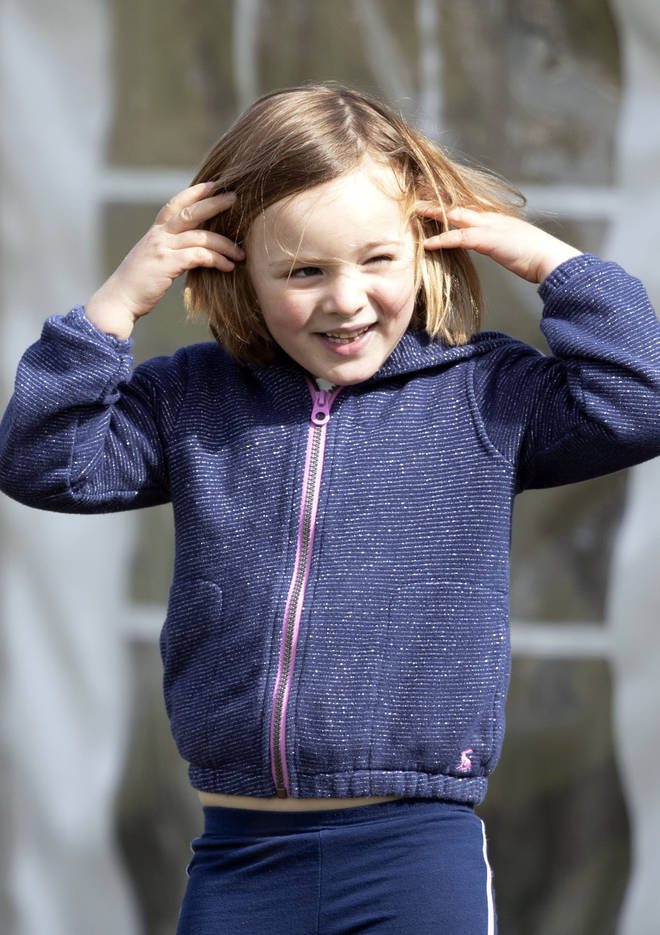 Mia Tindall is the first of Zara and Mike Tindall's two children