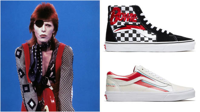 David Bowie Vans trainer collection