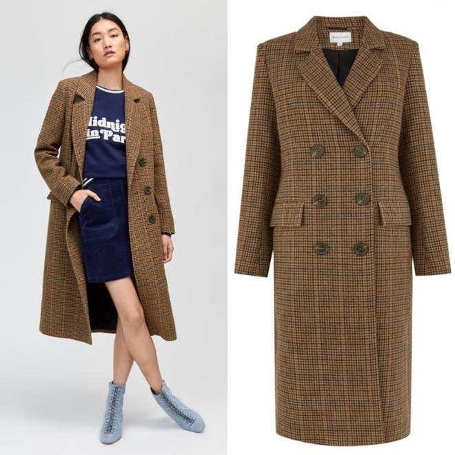 Warehouse check coat